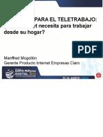 TeleTrabajo-Qué Internet Necesita Para Trabajar Desde Su Hogar