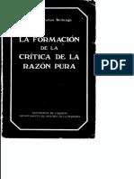 La formación de la Crítica de la Razón Pura.pdf