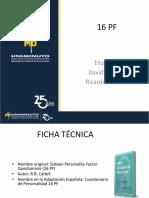 16 Pf - Presentacion