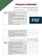 Instrumento para El Diagnóstico de La Capacidad Profesional Docente de un Centro. Proyecto Atlántida.