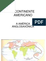 America Anglo Saxonica
