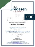 April 10 Biden Invitation