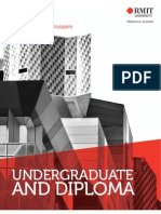 Undergraduate program guide for international students -- RMIT University, Melbourne Australia.