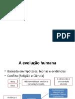 Evolução Humana - Aula