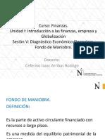 Diagnóstico Económico-Financiero. Fondo de Maniobra