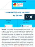 Procesamiento Patrones Python