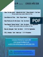 Jin Shin Jyutsu ®- Argentina    año 2018
