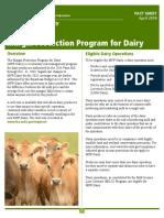 Margin Protection Program information