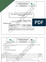 PDR PRO 20 Procedimiento Seguro Para Área Mantención