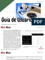 AX15 Y AX25 - Guía de Usuario v1.0