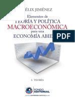 Libro Macroeconomìa - Félix Jiménez-con Subrayados