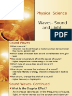 physical science- waves review