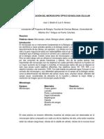 USO Y APLICACIÓN DEL MICROSCOPIO ÓPTICO EN BIOLOGÍA CELULAR.docx