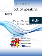 Book of Speaking Tests