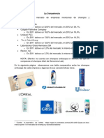Competencia de Head And Shoulders Anticaspa