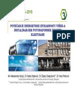 Politehnika 2015_ Solarna Elektrana Prezentacija