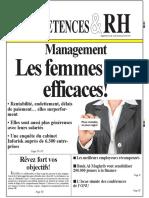 Management Les Femmes Plus Efficaces