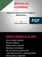 Dieta Perfecta Nayla - Dieta de Las 4 Comidas