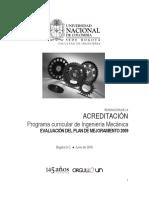 Evaluacin Plan de Mejoramiento 2009-2014