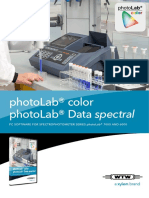Flyer 2 PhotoLab Color PhotoLab Data Spectral 223 KB INT PDF