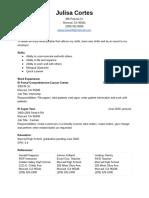 resume cortes - google docs