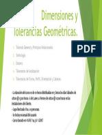 Dimensiones y Tolerancias Geométricas Básico ASME Y 14.5