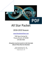 All Star Packet 2018-2019