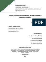 Estudio Cuantitativo Del Autoaprendizaje Del Tema Crecimiento y Desarrollo Craneofacial