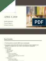 portfolio and revision