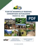 Plan de Desarrollo Regional Concertado Actualizado 07.09.16