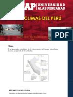 CLIMAS DEL PERÚ