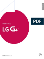 LG G4 Manual Guide English
