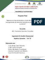 Proyecto Tecnologia y Su Entorno