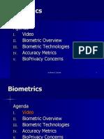 Bio Metrics Presentation