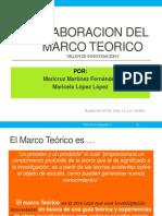 91068097 Elaboracion Del Marco Teorico