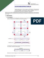 Idealización Estructuras y Cargas