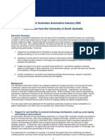 Review of Australian Automotive Industry 2008