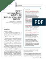 Manejo General y Extrahospitalario Paliativo Del Paciente Oncologico