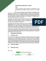Análisis Físico Químico de La Leche