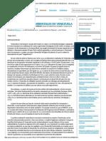 Características Ambientales de Venezuela - Informe de Libros