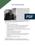 Diego Gracia La Fundamentación de La Bioética