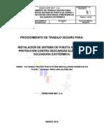 04 Pts Instalacion de Barra y Malla de Puesta a Tierra y Soldadura Exotermica