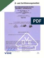 Certificado de Cuchilla