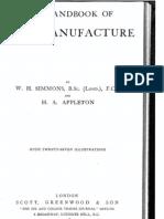 Handbook of Soap Manufacture