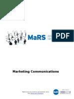 Marketing Communications WorkbookGuide