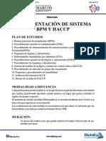 Inecidg - Implementacion Sistema Bpm y Haccp - Unmsm