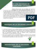 Sociedad de Responsabilidad Limitada Diapositivas