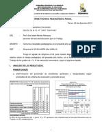 informe tecnico pedagogico.