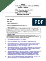 MPRWA Agenda Packet 04-12-18