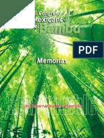 93984142 1er Congreso Mexicano Del Bambu Memorias Una Alternativa de Desarrollo Sustentable